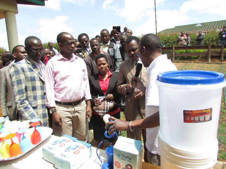 Farmers Day Water Filters Demostration