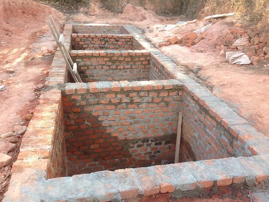 Uchindile Latrines Pits Construction