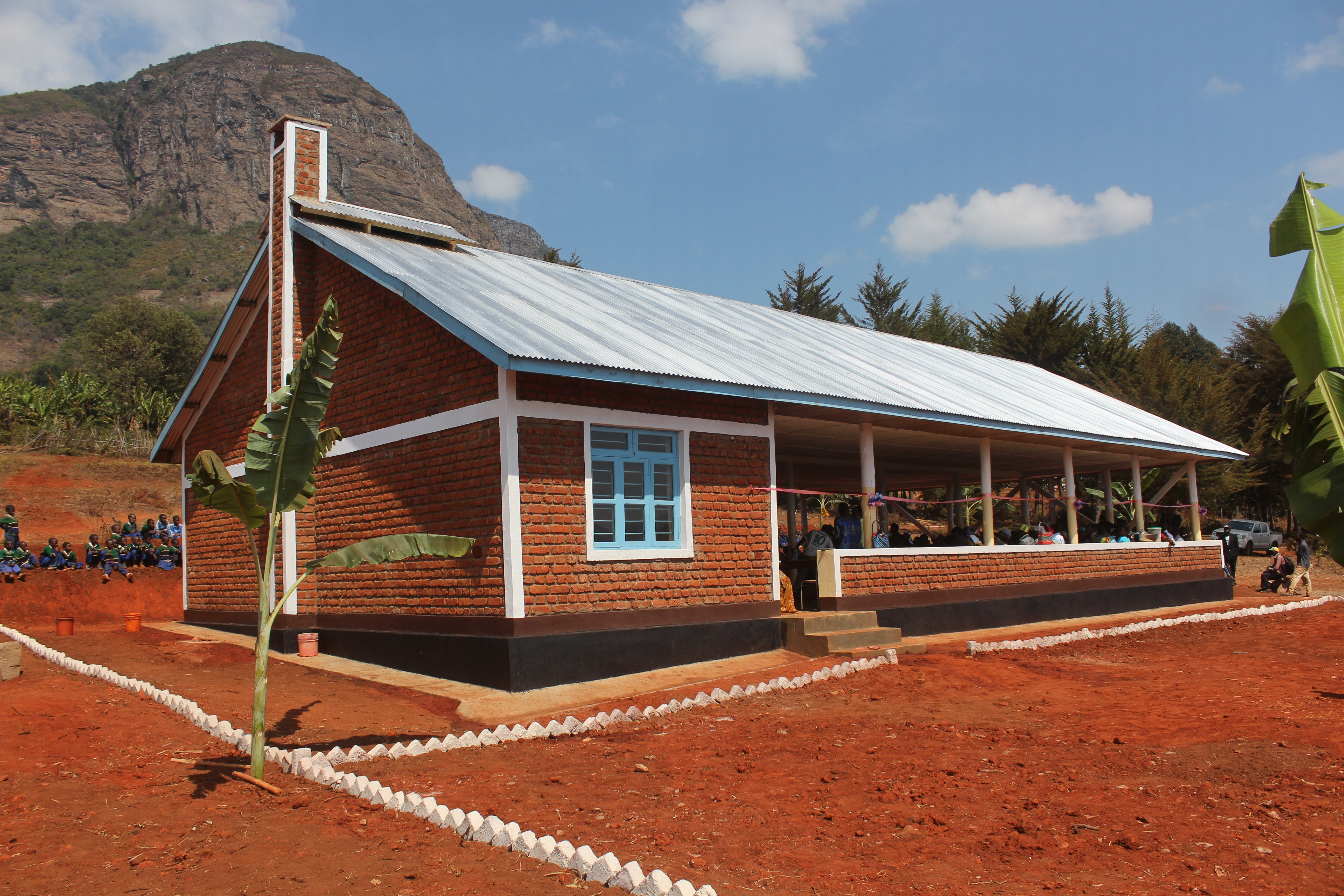 Dining Hall with Kitchen at Madunda Primary school
